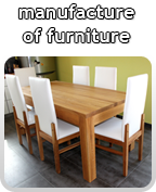 manufacture of furniture