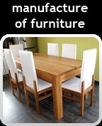 manufacture of furniture